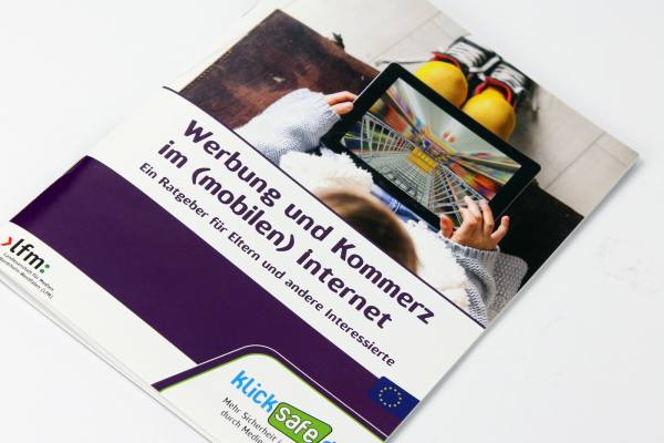 """klicksafe Titel """"Werbung und Kommerz im (mobilen) Internet"""" 4"""